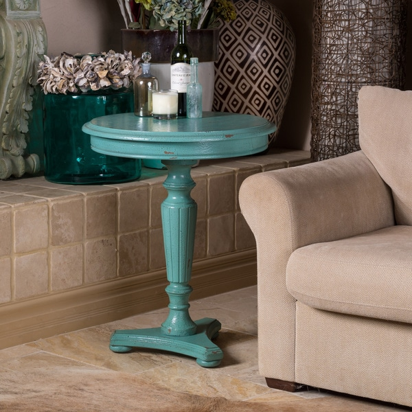 Shop Christopher Knight Home Bayberry Blue Accent Table