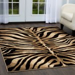Home Dynamix Tribeca Collection Contemporary Black Ivory Area Rug 5 2 X 7 2 5 2 X 7 2