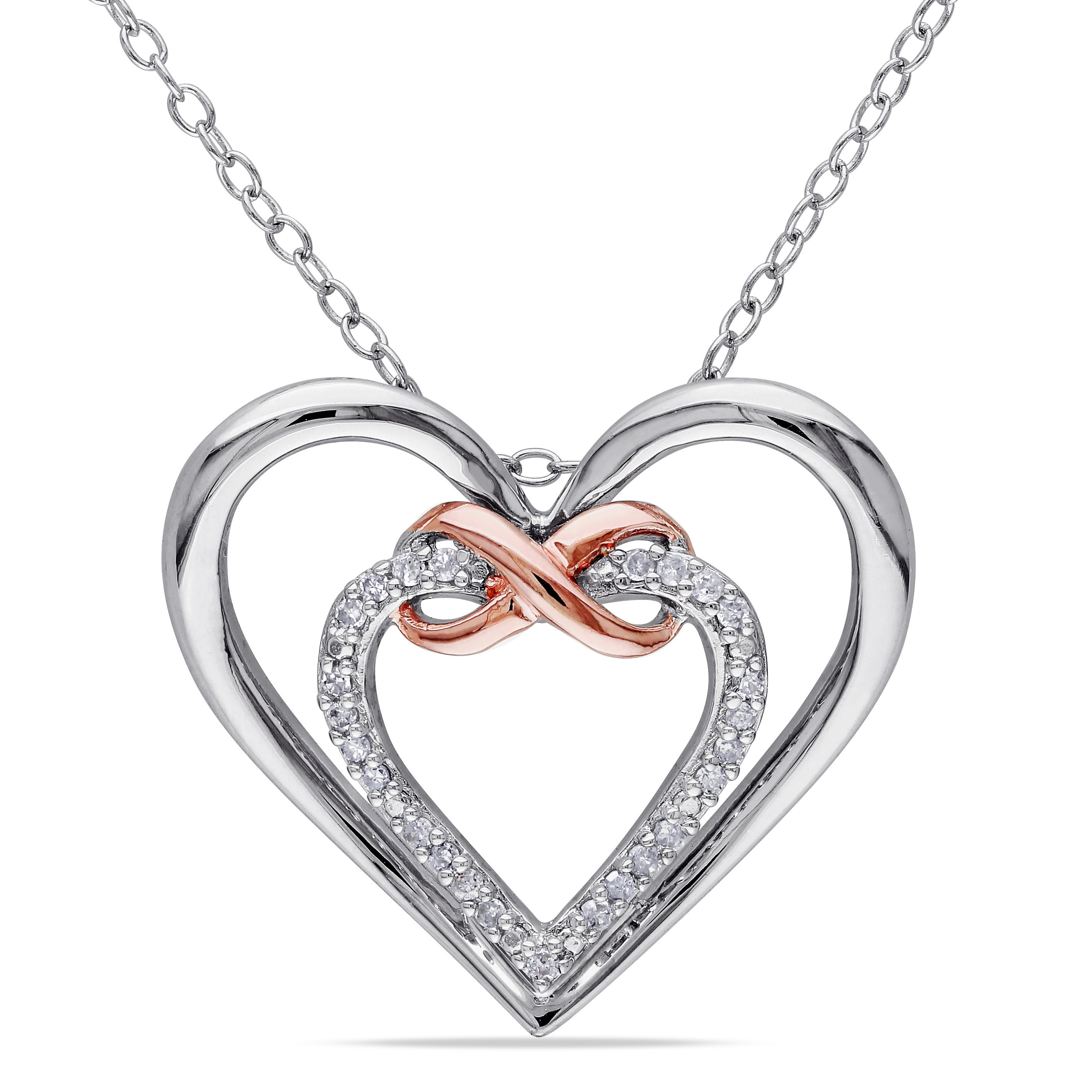 fd22387ea12 Heart Infinity Necklace Birthstone | Wiring Diagram Database