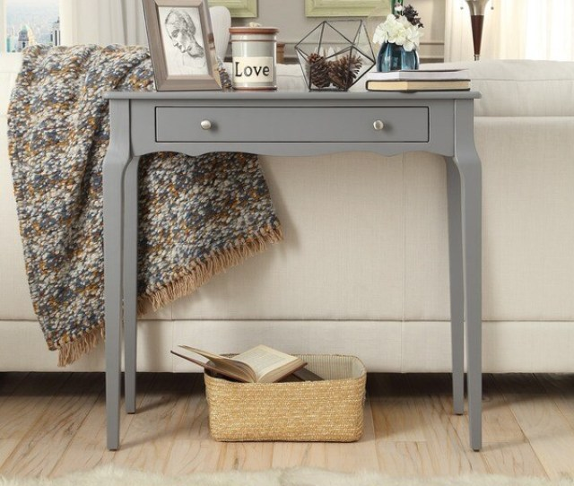 Daniella  Drawer Wood Accent Console Sofa Table By Inspire Q Bold