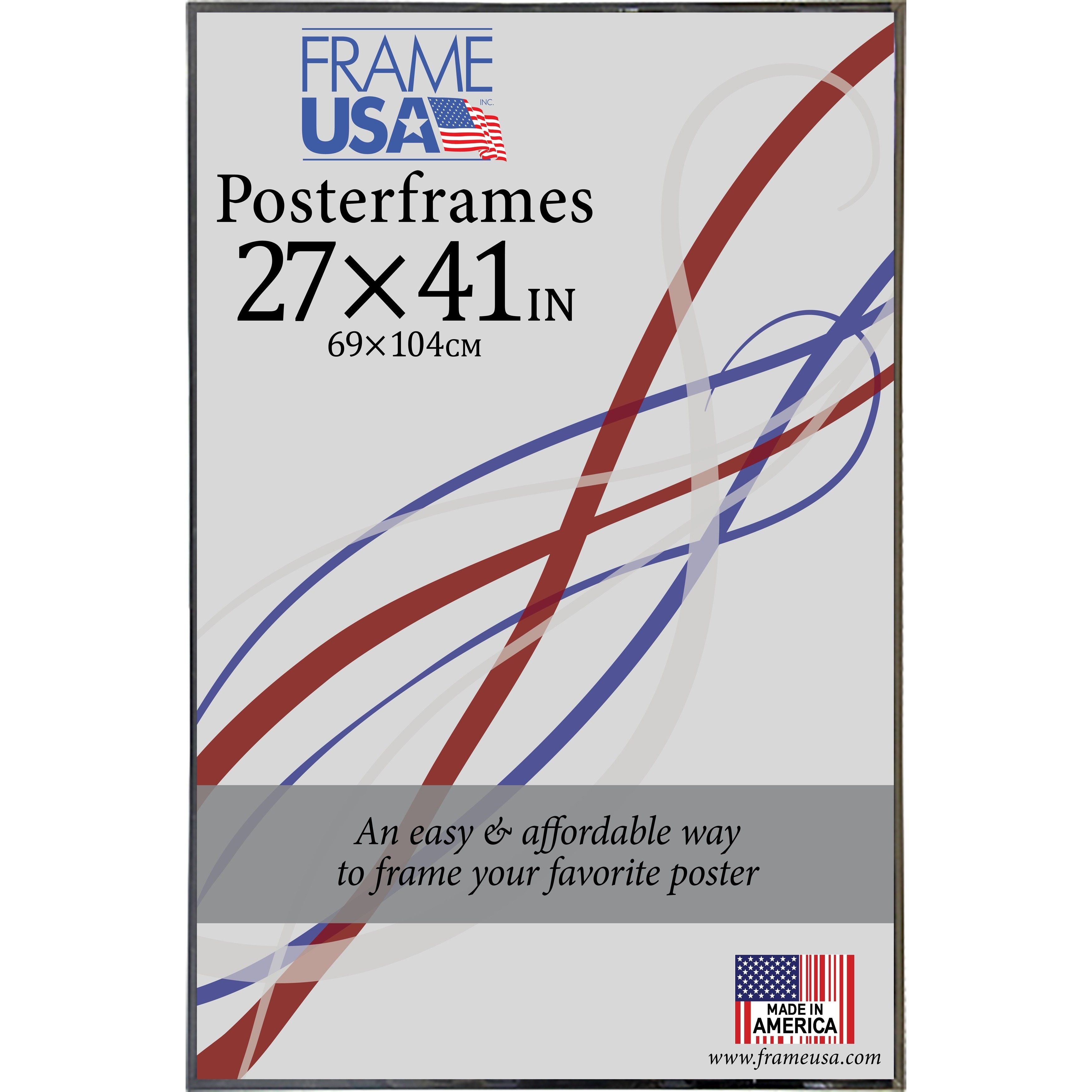 hardboard poster frame 27 x 41 inch image size
