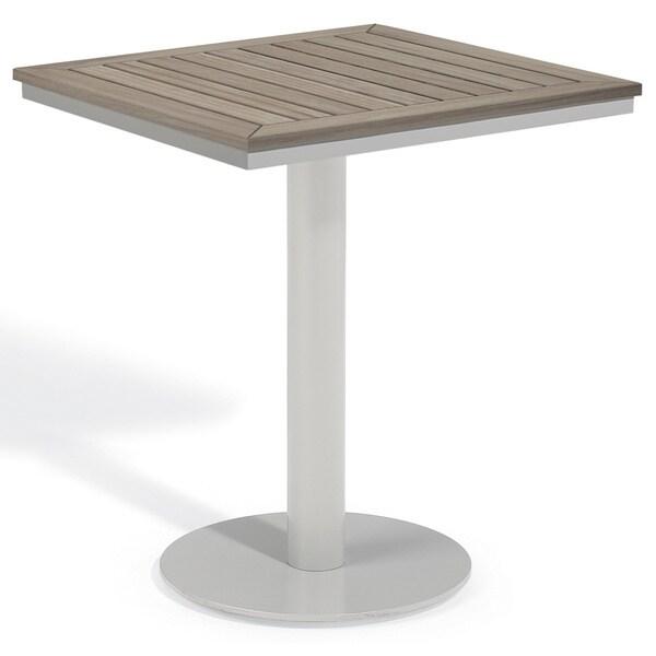 oxford garden travira 24 inch square bistro table
