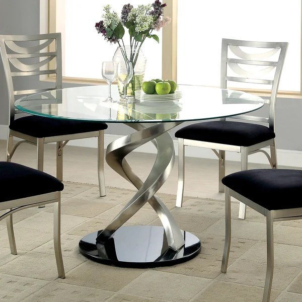 Contemporary Round Dining Table