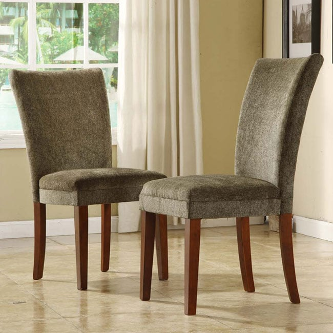 Fabric Parson Side Chairs Set Of 2 10480719