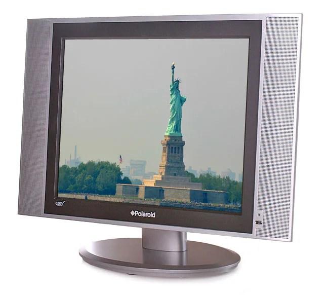 Polaroid 15 Inch Flat Screen LCD TV Refurbished