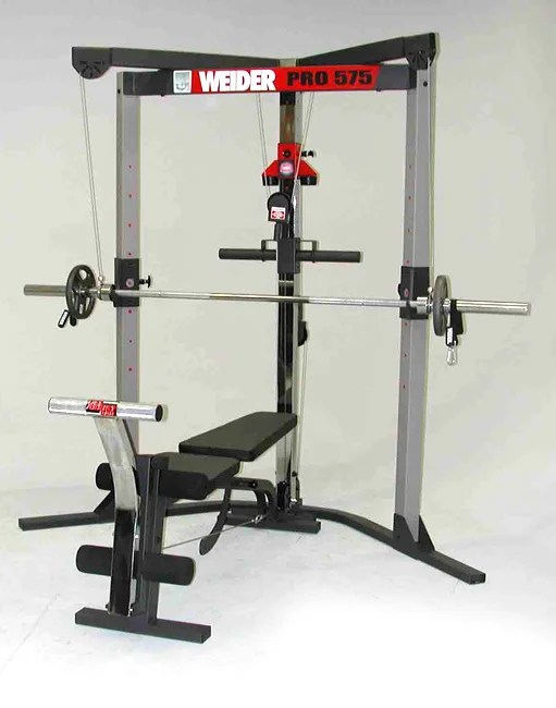 Weider Pro 575 Weight Lifting System 1134270 Overstock