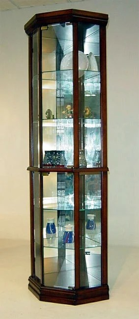 Corner Curio Cabinet Free Shipping Today