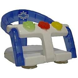 Shop Bebelove Baby Bath Ring Seat In Blue Free Shipping