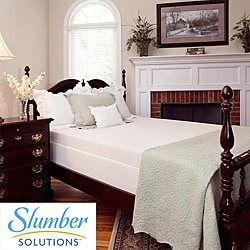 Slumber Solutions 4 Inch Latex Infused Mattress Topper
