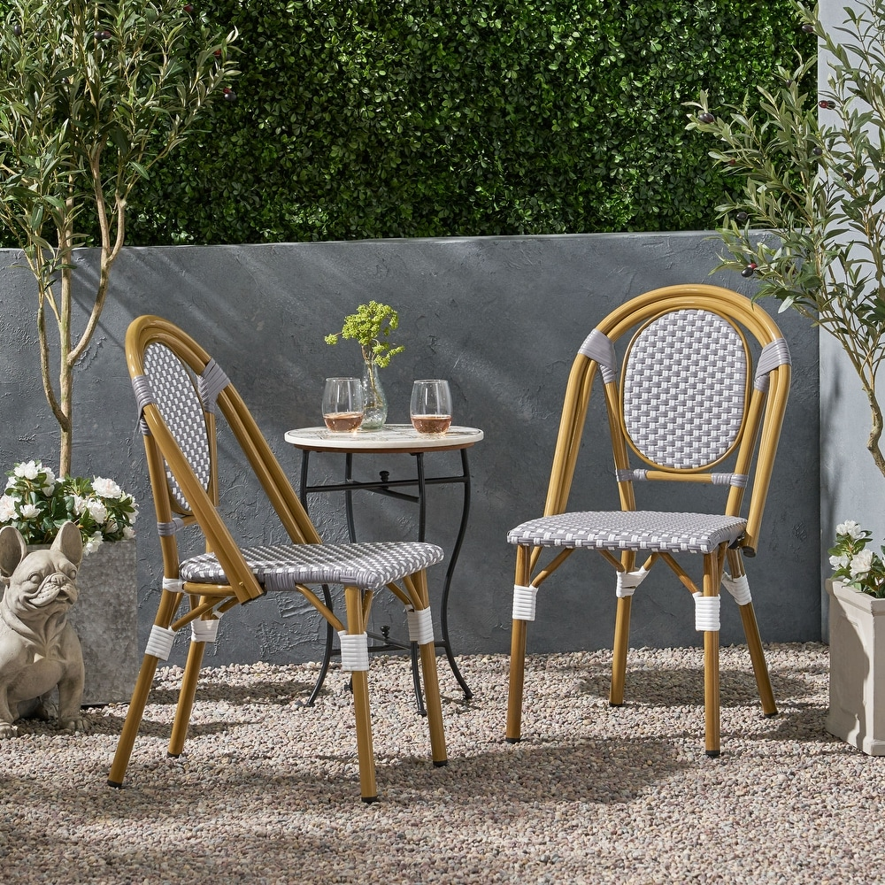 buy wicker patio dining chairs online