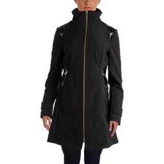 Via Spiga Womens Hooded Rain Jacket Free Shipping Today