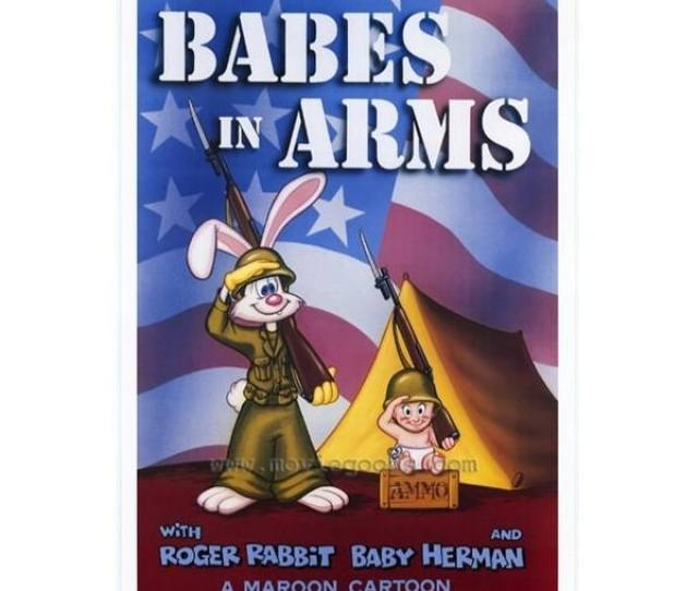 Roger Rabbit Babes In Arms Movie Poster  In