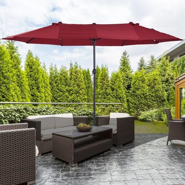 buy rectangular patio umbrellas online