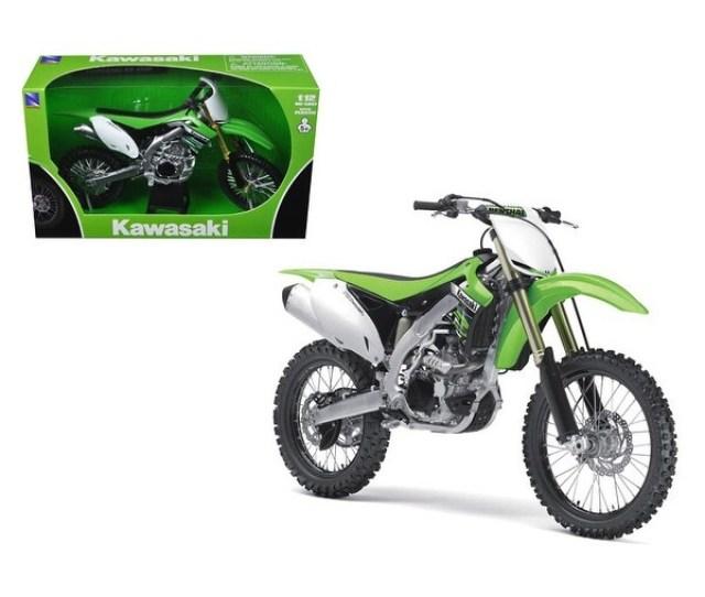 2012 Kawasaki Kx 450f Dirt Bike Motorcycle 1 12 Model By New Ray