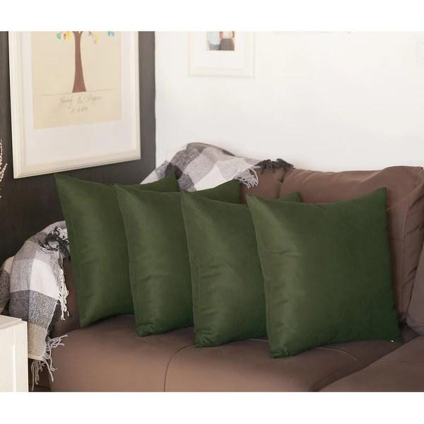 buy green pillow covers throw pillows