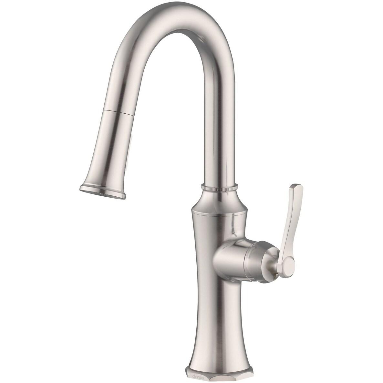 danze d150528 draper 1 75 gpm single hole pull down kitchen faucet