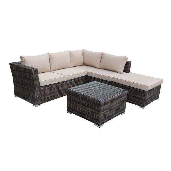 kinwell 4 piece outdoor patio furniture