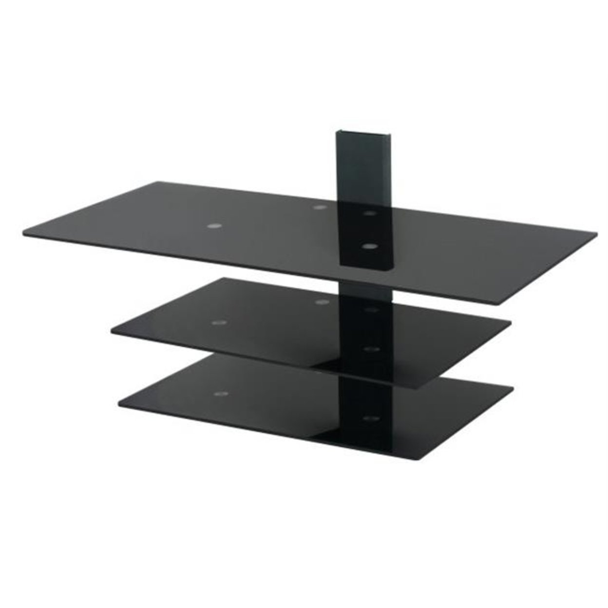 Avf Ps933pb A Wall Mounted Glass Shelving System For Tv Screens Up To 50