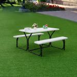 Costway Picnic Table Bench Set Outdoor Backyard Patio Garden Party Overstock 22340730