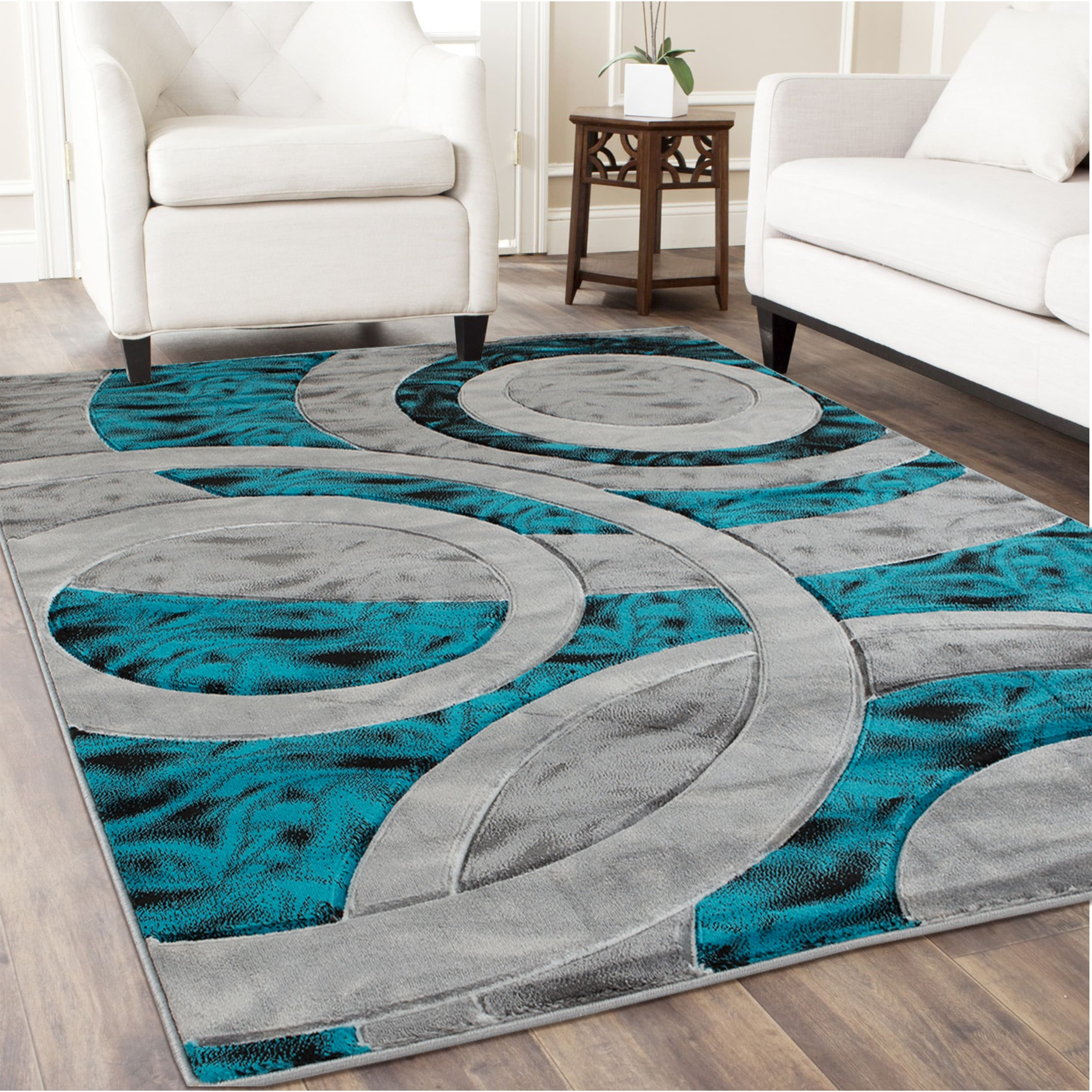 Orelsi Collection Abstract Area Rug Overstock 28487467