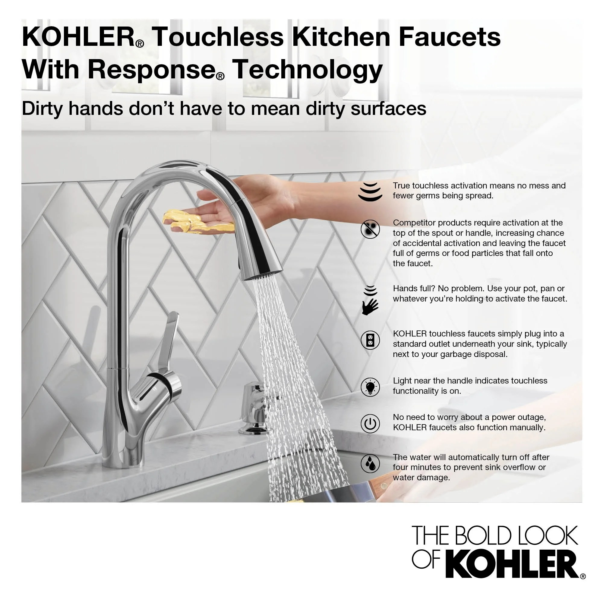 kohler k 29709 artifacts 1 5 gpm single hole pull down kitchen faucet