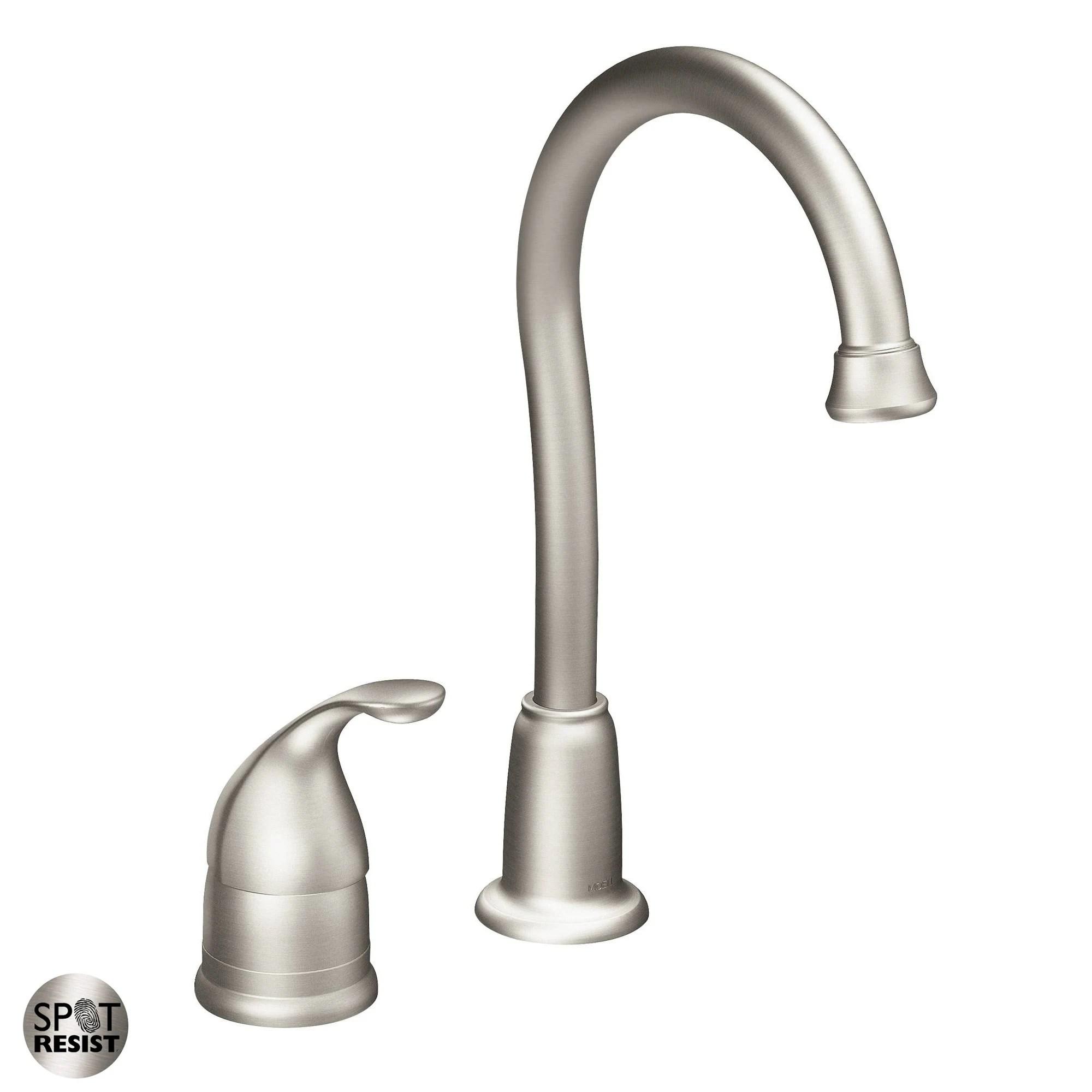 moen 4905 camerist single handle bar faucet