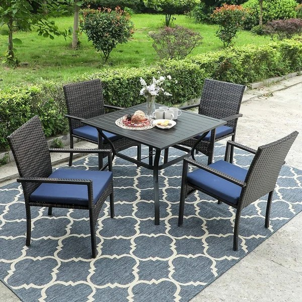 buy metal outdoor dining sets online at