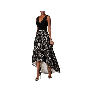 Xscape Dresses   Find Great Women s Clothing Deals Shopping at     Xscape Womens Evening Dress Floral Print High Low