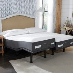 Comforpedic From Beautyrest 14 Inch Nrgel Mattress And Adjustable Bed Set On Sale Overstock 25459293