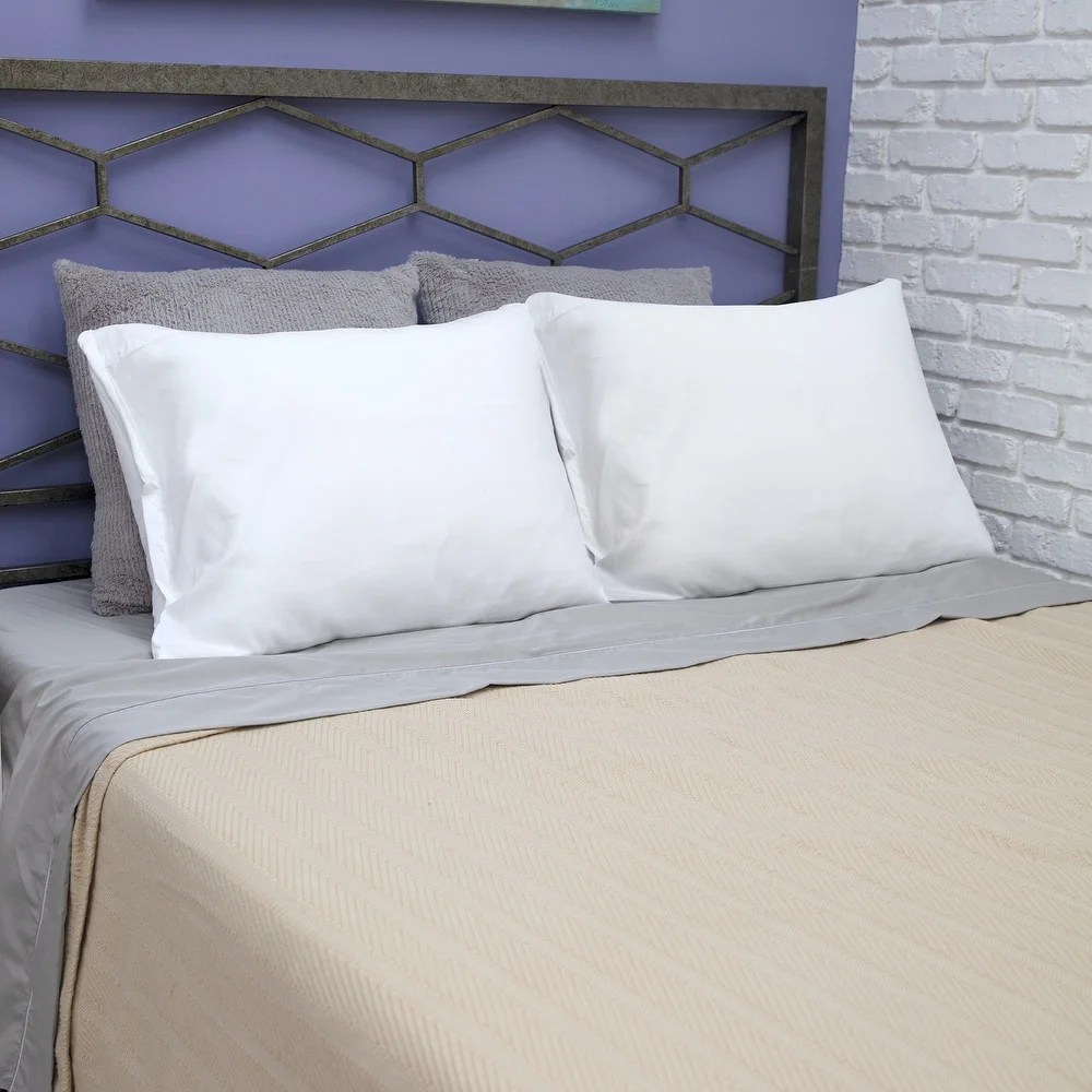 pillow protectors online at overstock