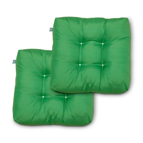 buy green square outdoor cushions