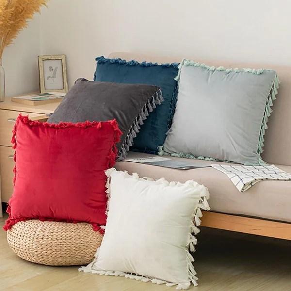 elegant boho decorative throw pillow