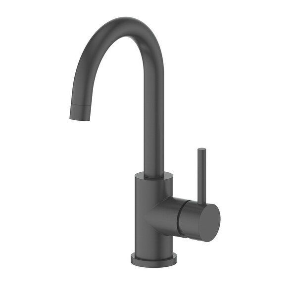 black nickel finish kitchen faucets