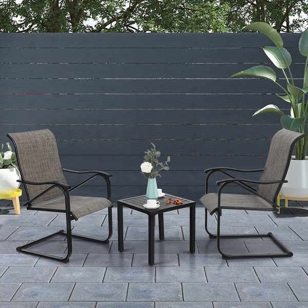 phi villa 3 piece patio dining set