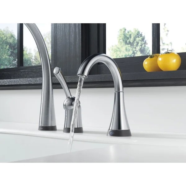 stainless delta faucet 1914 ss dst