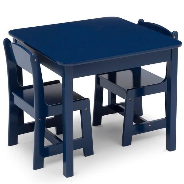 delta children mysize kids wood table