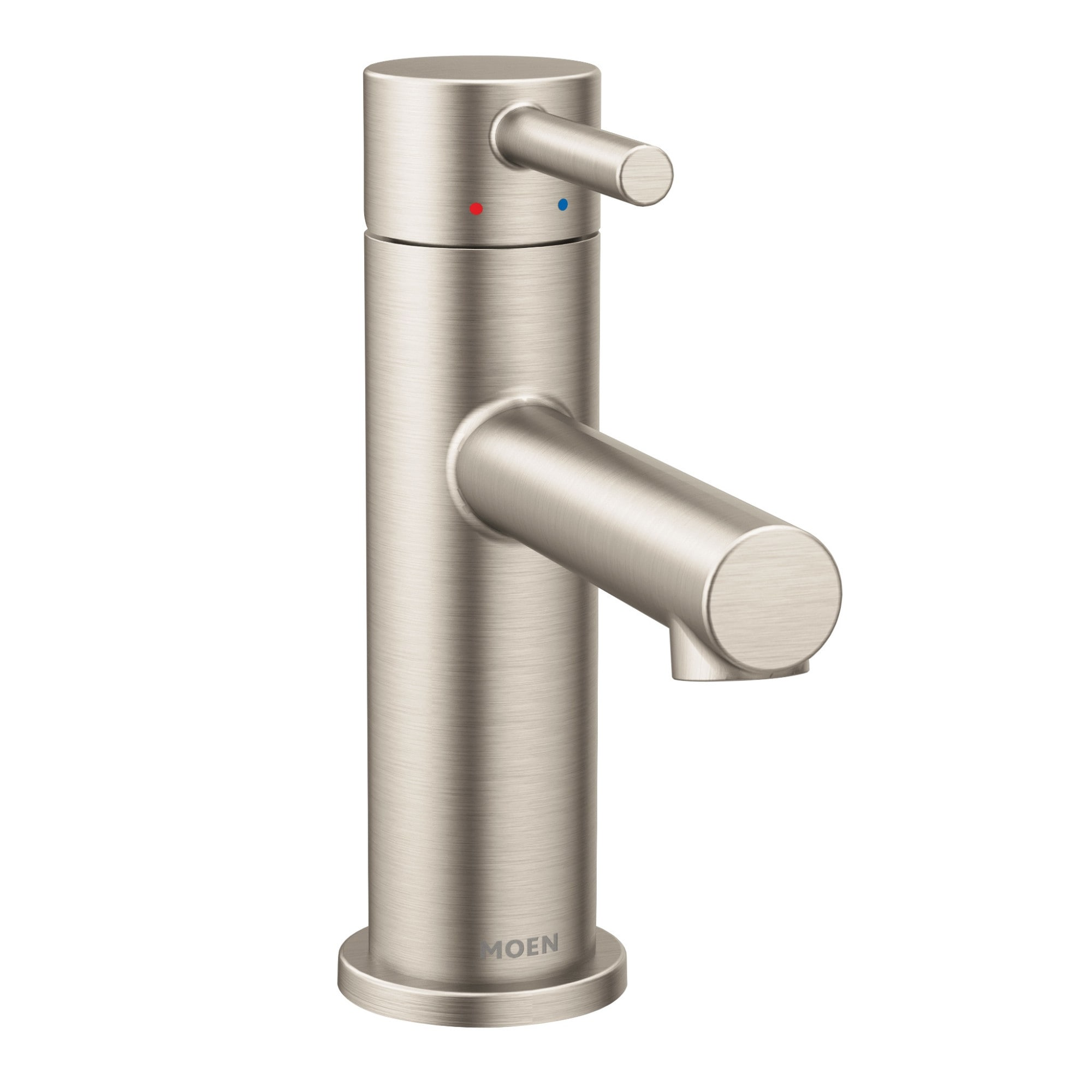 moen 6190 align 1 2 gpm single hole bathroom faucet with pop up drain