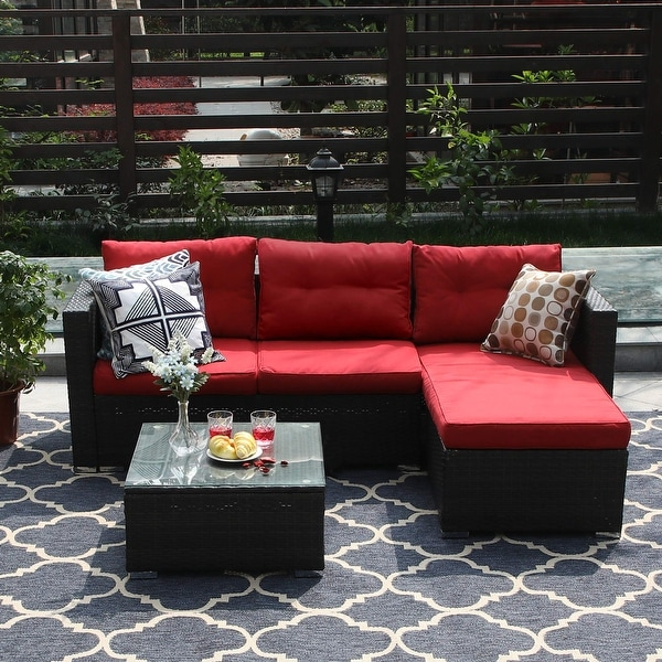 red patio furniture find great