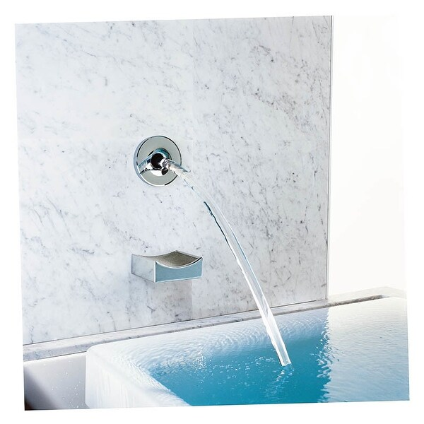 kohler k 922 laminar wall or ceiling mounted tub faucet spout only