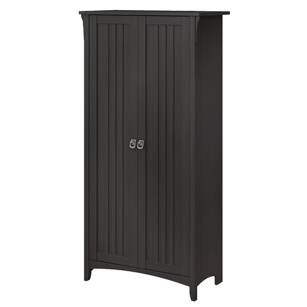 The Gray Barn Lowbridge Kitchen Pantry Cabinet With Doors Overstock 29205568 Metal Finish