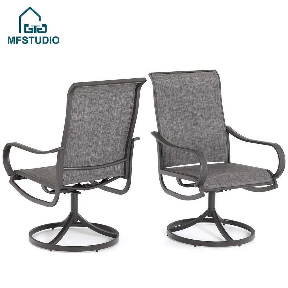 buy swivel patio dining chairs online