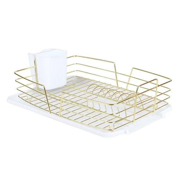 buy gold dish racks online at overstock