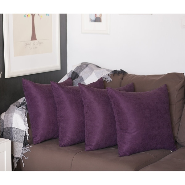 buy purple pillow covers throw pillows