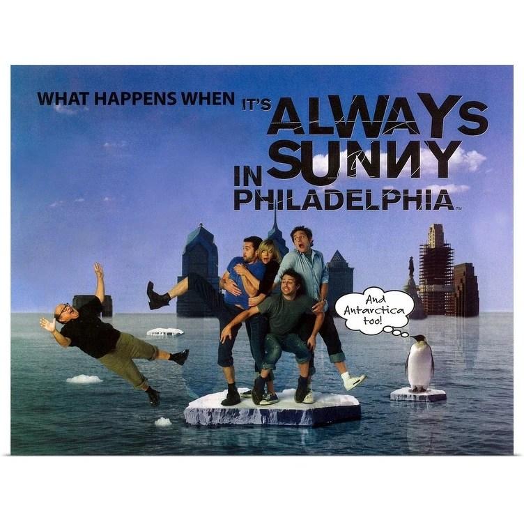 it s always sunny in philadelphia 2005 poster print