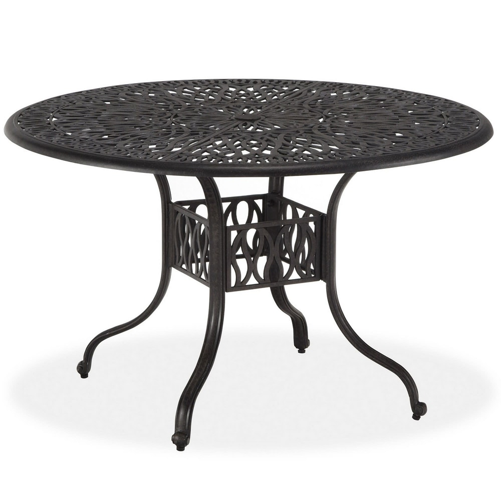 aluminum round outdoor dining tables
