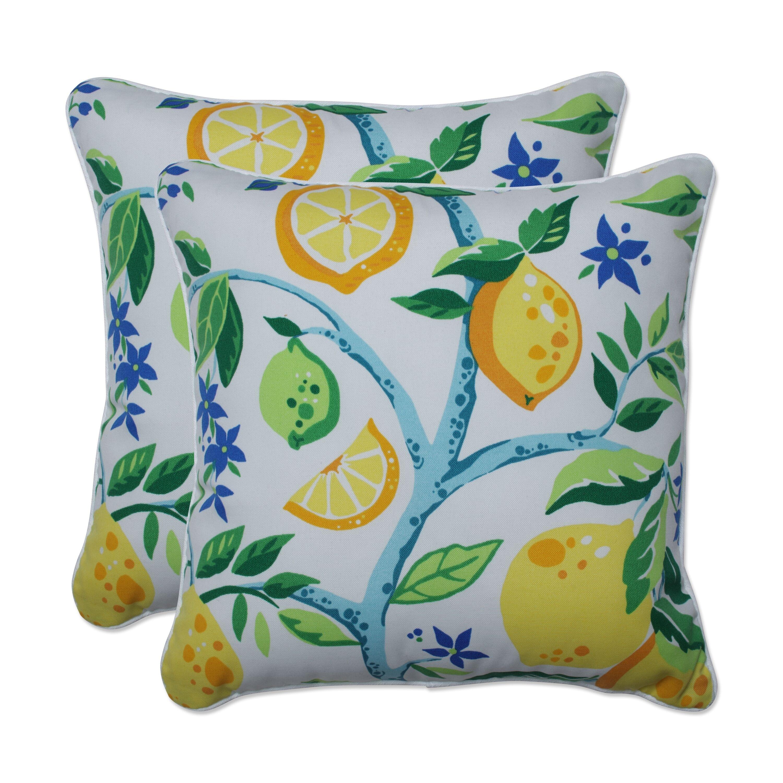 pillow perfect outdoor indoor lemon tree yellow 16 5 inch throw pillow 16 5 x 16 5 x 5