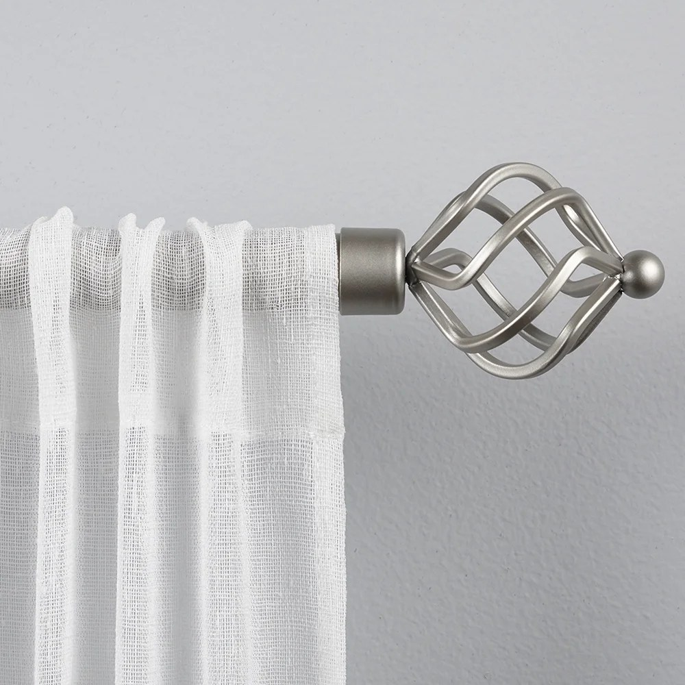 bohemian eclectic curtain rods