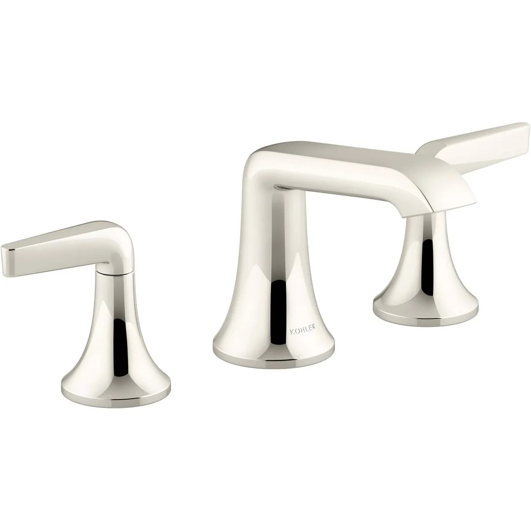 kohler k 22020 4 tempered 1 2 gpm widespread bathroom faucet with