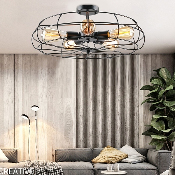 industrial flush mount lights find