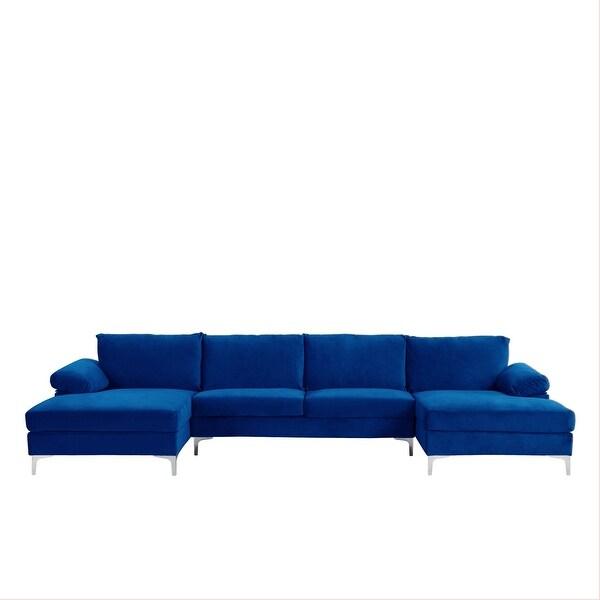 buy blue velvet sectional sofas online